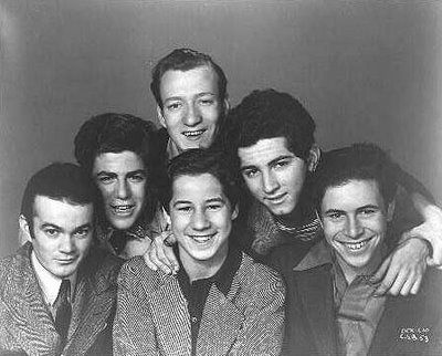 The Bowery Boys (Also called the Dead End Kids)were fictional New York City characters--(Leo Gorcey, Huntz Hall, Bobby Jordan, Gabriel Dell, Billy Halop, and Bernard Punsly)
