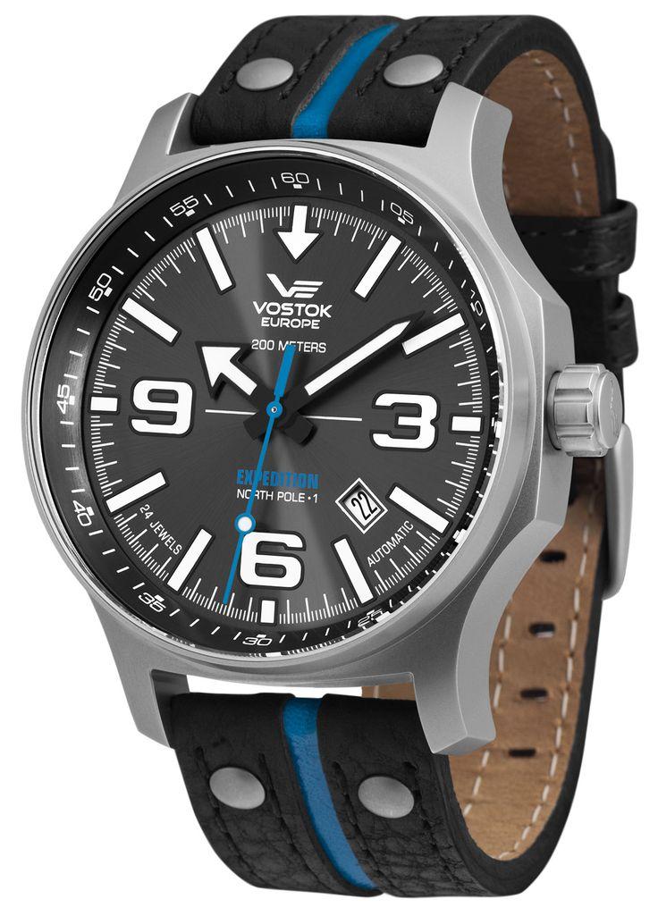 VOSTOK EUROPE 5955195 Expedition Nordpol 1 Automatik Herrenuhr jetzt günstig im uhrcenter Uhren Shop bestellen. ✓Geprüfter Online-Shop.