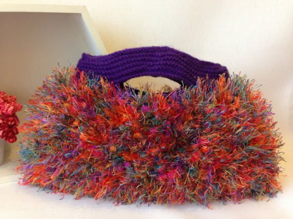 Vivid Rainbow Bag by ByDebz on Etsy