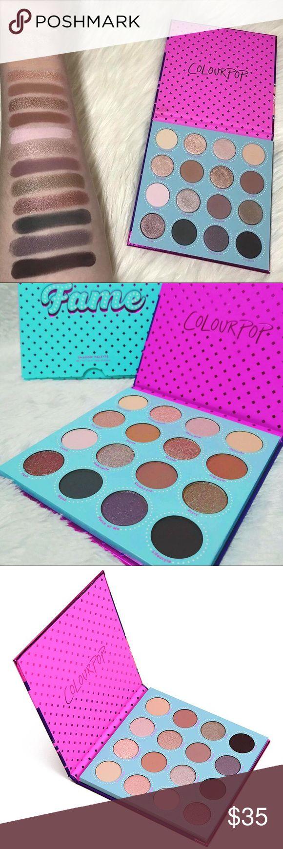 Colourpop FAME Eyeshadow Palette Colourpop, Eyeshadow