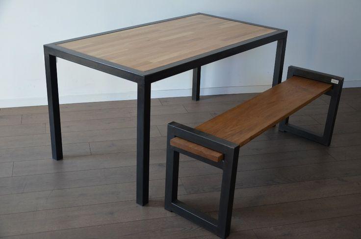 Cuisine - salle à mangerHewel mobilier réalise des meubles de salle à manger et de cuisinesur-mesure. Découvrezà travers cette sélectiondes modèles de tableà mangerbois métal,debanc industriel, dechaises d'usine ou dedesserte …