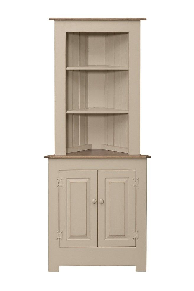 Large Corner Cabinet Peaceful Valley Amish Furniture Corner Cabinet Living Room Rustic Corner Cabinet Dining Room Corner #rustic #living #room #cabinet