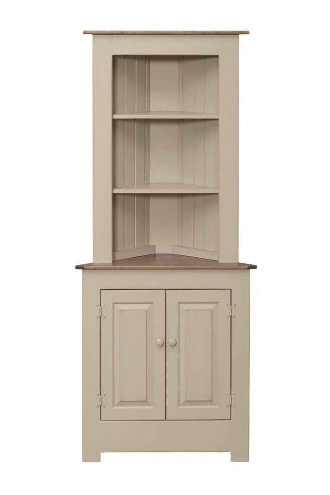 Large Corner Cabinet Peaceful Valley Amish Furniture Corner Furniture Dining Room Corner Rustic Corner Cabinet