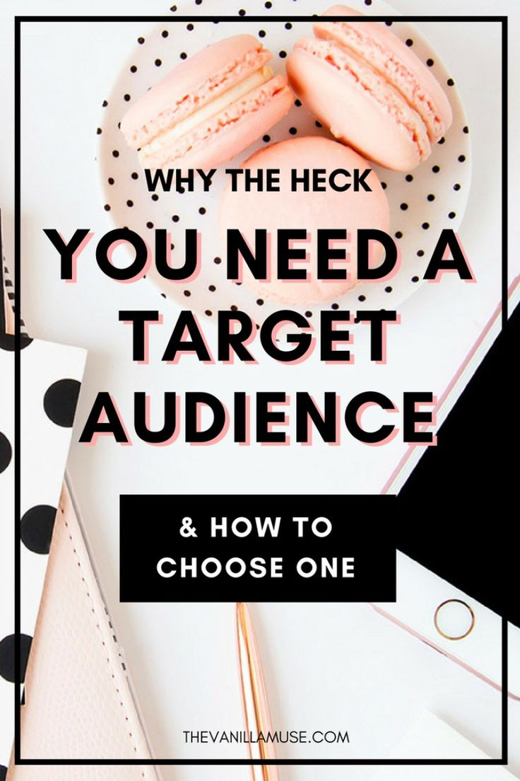 Why the heck do you need a target audience anyway? I mean, isn't everyone your customer after all? Um, no. This post will blast through that myth and show you 3 ways that defining your target audience will grow your business: grow your email list, get more traffic, and make more sales! All through defining that target audience. So what are you waiting for? Start reading!