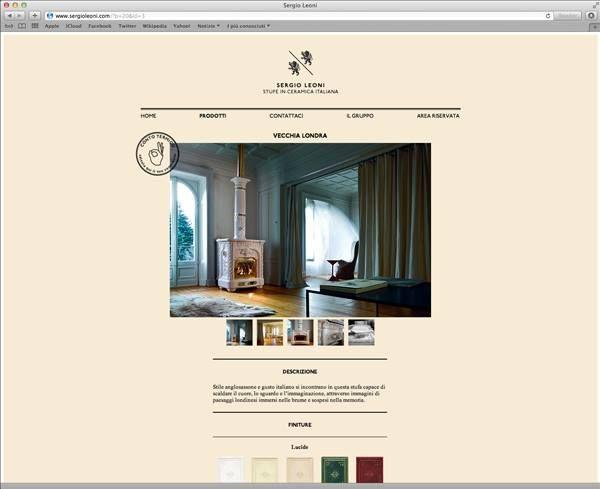 B/M for Sergio Leoni — website