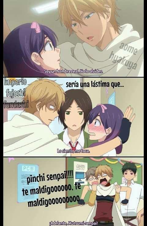 ¿Te Gusta Watashi Ga Motete Dousunda? siii lo amo, amo este anime ya lo vi  amo el final la piba no elije a ninguno