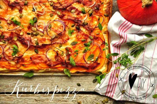 Herbstliebe ist Kürbispizza mit Birne [Herzblutprojekt] - blick7
