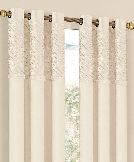 1000 Images About Cream Colored Grommet Drapery Panels On