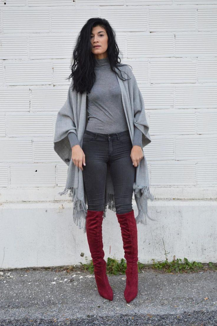 Серые джинсы (63 фото): с чем носить, кому подойдут, луки и образы, с завышенной талией, обувь, модные тенденции 2017
