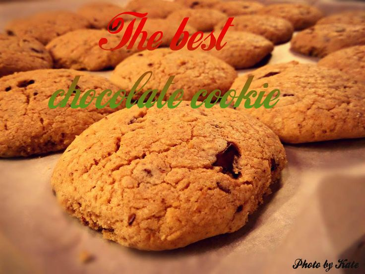I have tried a lots of recipes, but this cookie was the best.