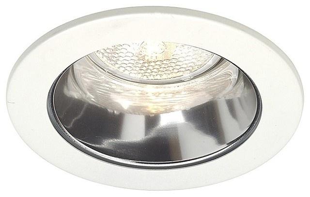 "Juno 4"" Line Voltage Clear Alzak Recessed Light Trim traditional recessed lighting"