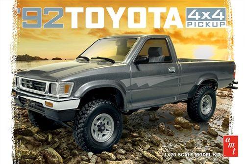 Amt 1992 Toyota 4x4 Pick Up 1 20 Scale Model Kit Toyota 4x4 Toyota Toyota Pickup 4x4