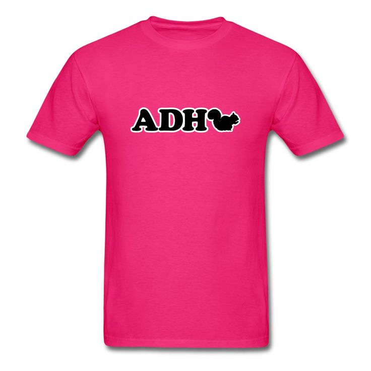 ADHD SQUIRREL! ADHD humor and perfect for those with SQUIRREL! Great gift idea for adult or kid with attention deficit hyperactivity disorder SQUIRREL! You're laughing because it's funny and true. I'm laughing because it's me. :)