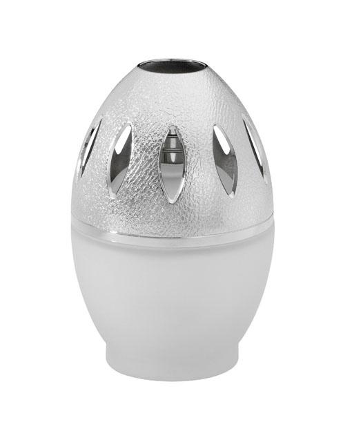 Lampe Egg givré.