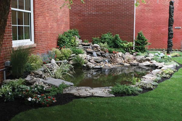 Best 25 small backyard ponds ideas on pinterest small for Waterfall supplies