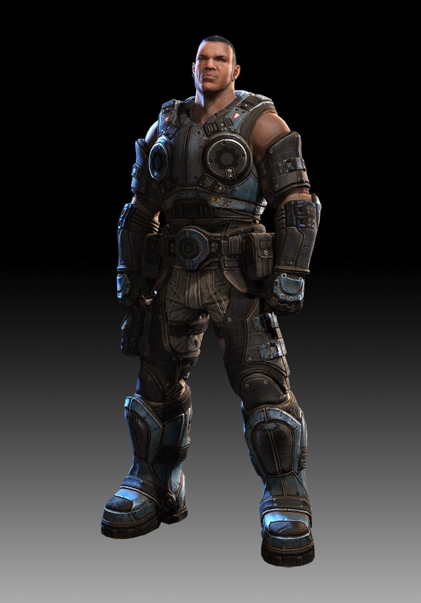 """A younger Cole in """"Gears of War: Judgement"""""""