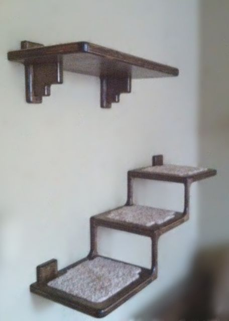 25 best ideas about cat perch on pinterest cat shelves cat furniture and cat wall - Wall mounted cat climber ...