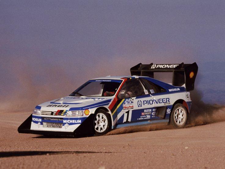 Peugeot 405 T16 Pikes Peak race car
