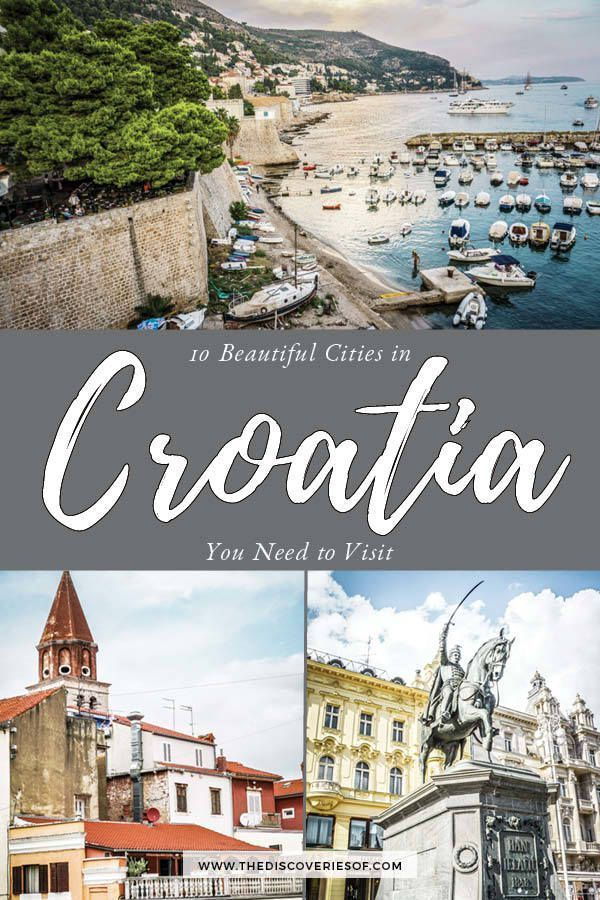 10 Gorgeous Towns And Cities In Croatia You Need To Travel To Croatia Travel Europe Travel Eastern Europe Travel