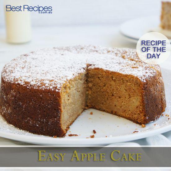 How to make an easy apple cake #baking #cake #dessert #recipe