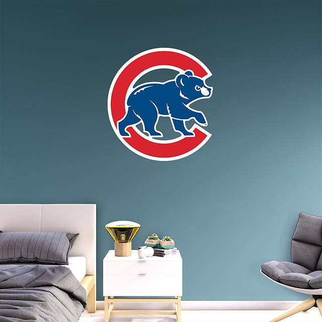 9df73c6f69a Chicago Cubs  Alternate Logo - Giant Officially Licensed MLB Removable Wall  Decal