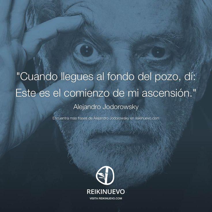 Si alguna vez te encuentras en el fondo del pozo, sigue el siguiente consejo de Alejandro Jodorowsky http://reikinuevo.com/alejandro-jodorowsky-fondo-pozo/