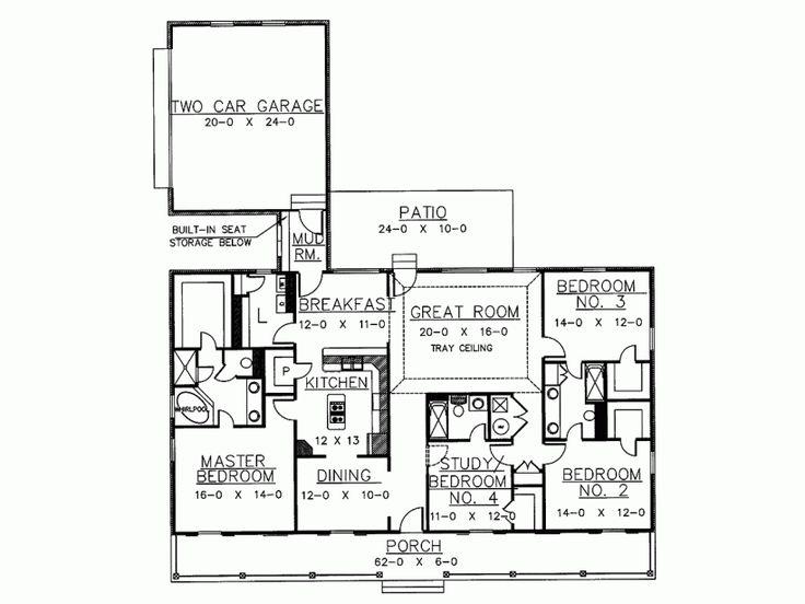 13 best ID Floor Plans images on Pinterest Floor plans, Cottage