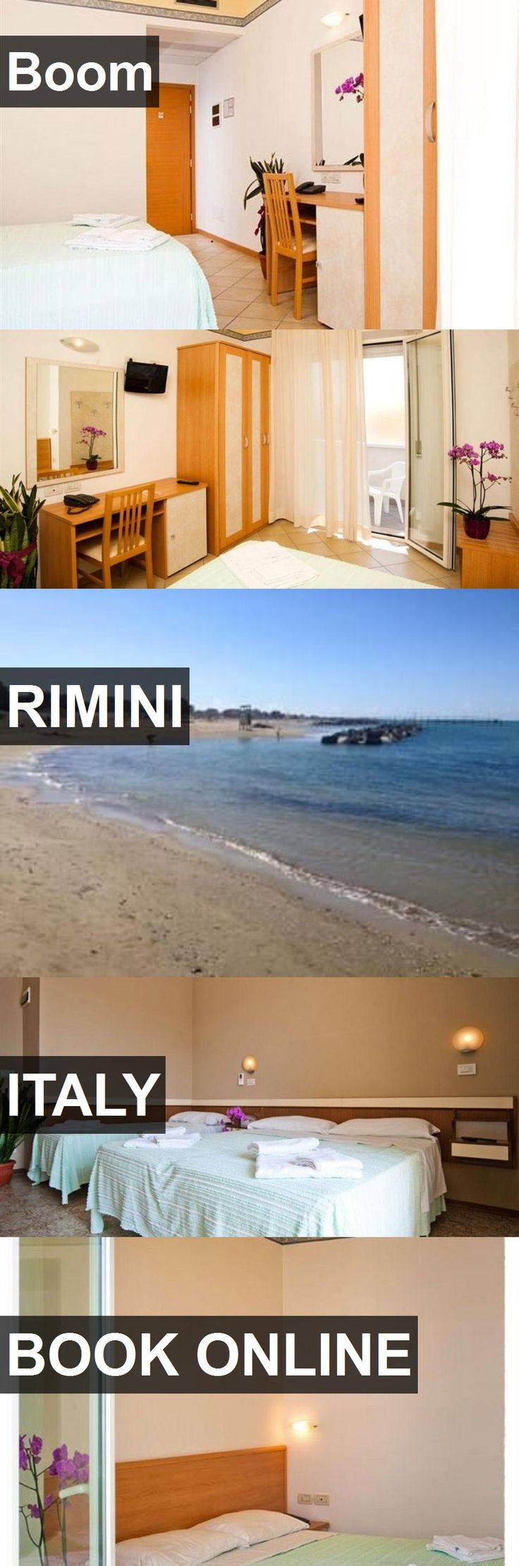 Hotel Boom in Rimini, Italy. For more information, photos, reviews and best prices please follow the link. #Italy #Rimini #Boom #hotel #travel #vacation