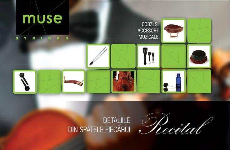 MUSE Strings - magazin de corzi si accesorii muzicale pentru vioara, viola, violoncel