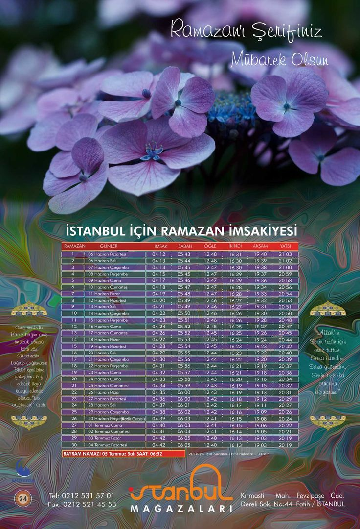 İMSAKİYE24