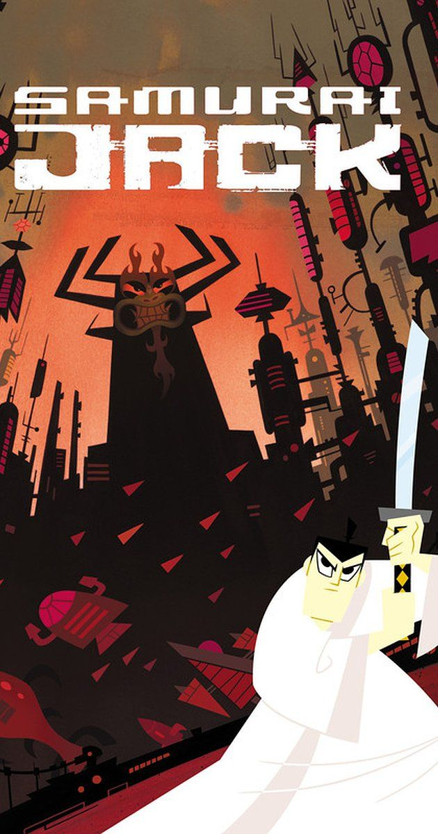 Samurai Jack ---     Created by Genndy Tartakovsky.  With Phil LaMarr, Mako, Kevin Michael Richardson, Jeff Bennett. A samurai sent through time fights to return home and save the world.
