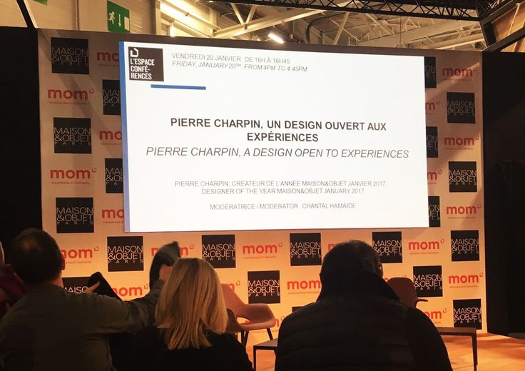 Pierre Charpin is a guest of honor in the world of design