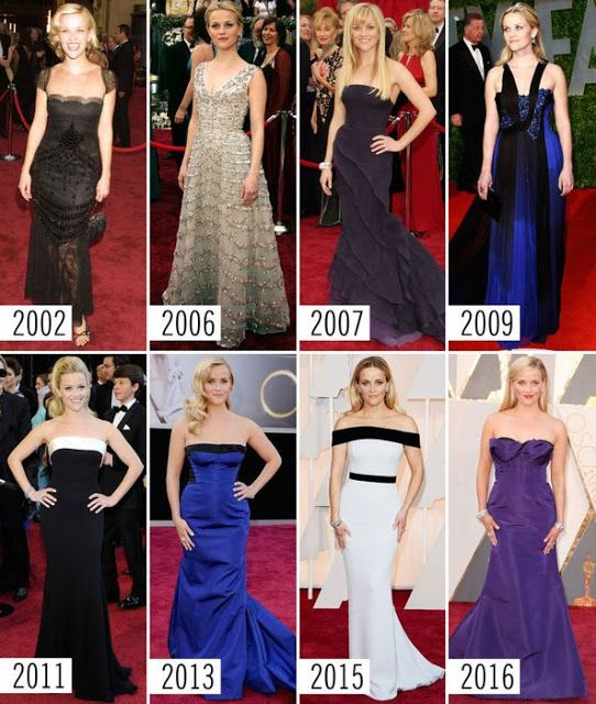Celebrity Charm and Beauty in Oscars