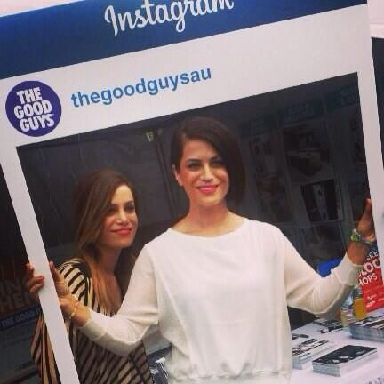 Alisa and Lysandra joining the fun at #TheBlock inspection last weekend! Looking amazing girls :)