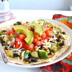 Veggie Burrito Salad   veggies   Pinterest