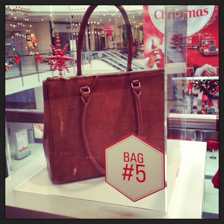 BAG FIVE: Corporate Safari Chic, take note ladies! This @Mi Piaci Bag is a classic style in an on-trend safari tan, with enough room for all your day-to-day essentials, What more could you ask for? Christmas is in the Bag at #WestfieldStLukes