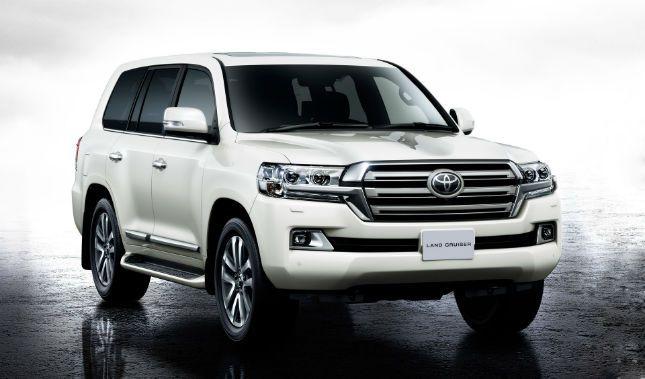 2016 Toyota Land Cruiser Model