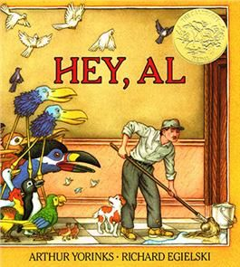 Hey Al by Arthur Yorinks. 1987 Winner