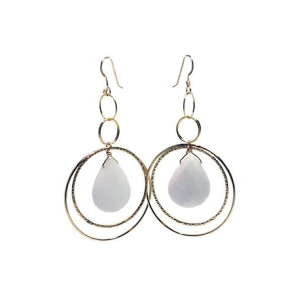 White Haven Earrings by Lisa Dora Jewellery