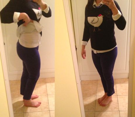 First trimester style: outfits to hide pregnancy
