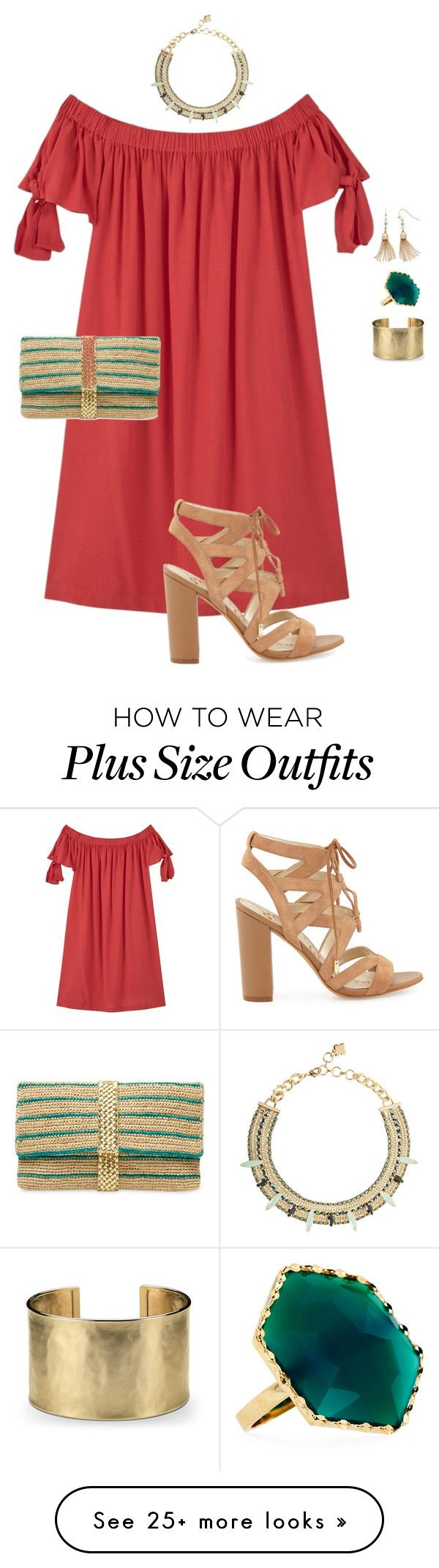 """plus size simple chic date night"" by kristie-payne on Polyvore featuring MANGO, Lana, Blue Nile, BCBGMAXAZRIA, Sam Edelman, LC Lauren Conrad and Mar y Sol"