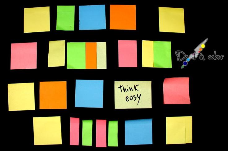 http://www.cameramak.com/111/Do_it_in_colour__Pensiero.html    Pluralitas non est ponenda sine necessitate, Non considerare la pluralità se non è necessario. (Guglielmo di Occam)    Pensa facile in modo che anche gli altri ti possano capire, pensa facile in modo da ricordare più facilmente, pensa facile perchè a volte la soluzione al problema è la più semplice.