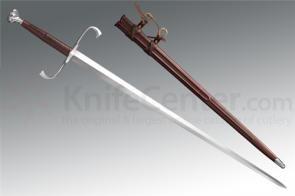 Cold Steel 88HTB German Longsword 35.5 inch Carbon Steel Blade