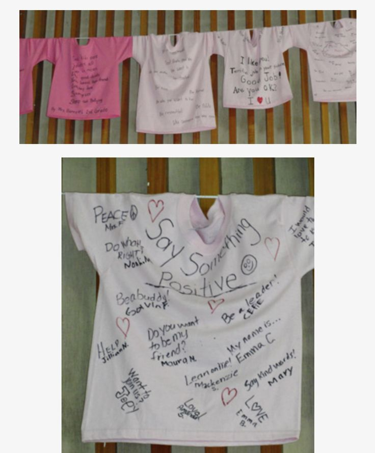 Pink Shirt activity that went with the book, Say Something http://www.teachpeacenow.org/pink-shirt-day.html