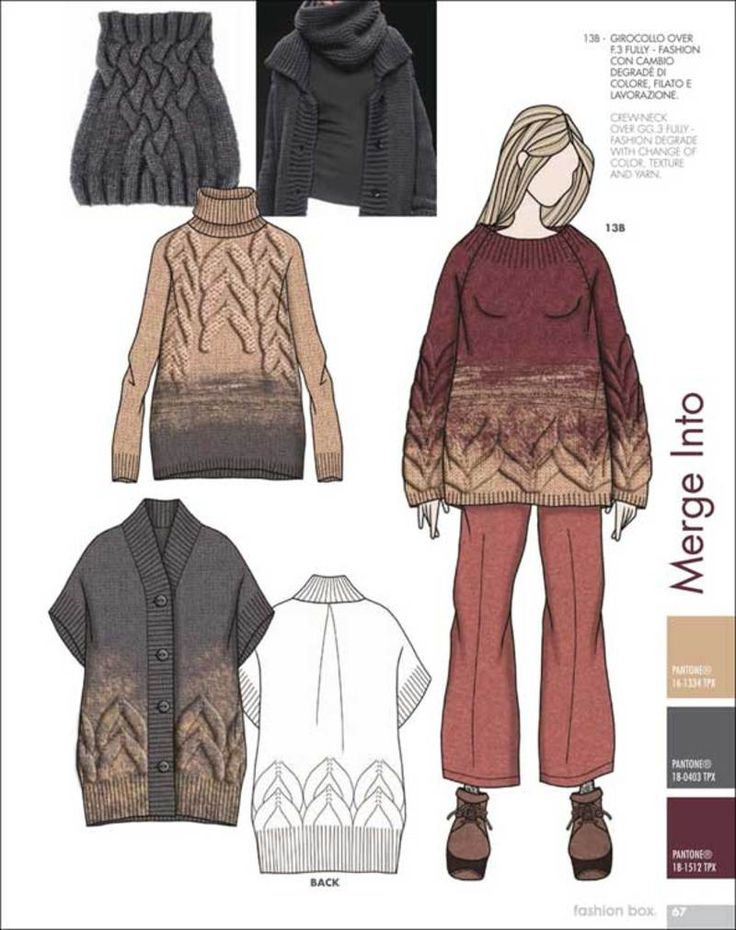 Fashion Box Women's Knitwear - F/W 15/16 - Womenswear - Styling ...