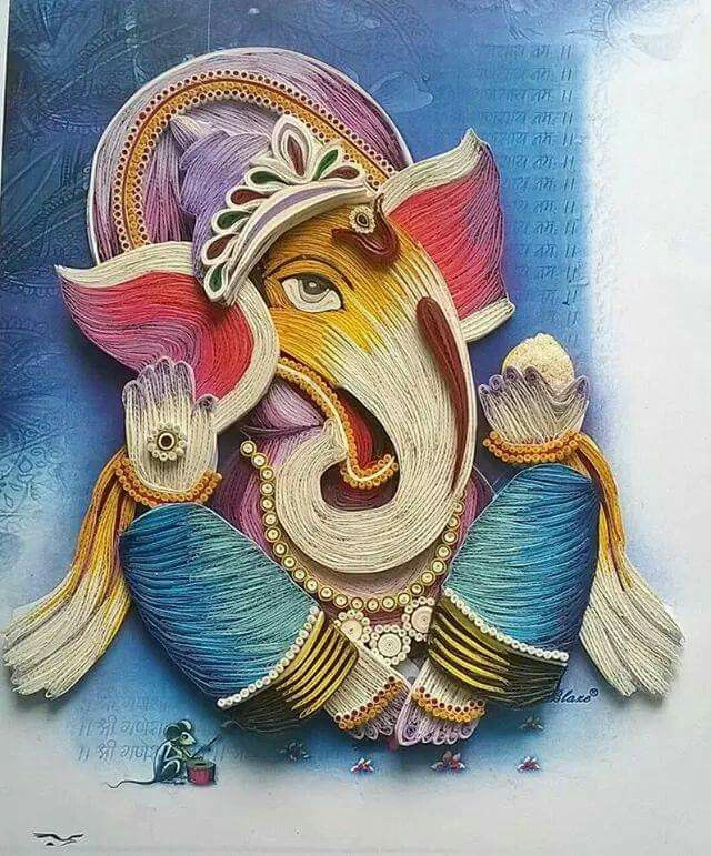 simple ganesha drawings in letter k - Google Search