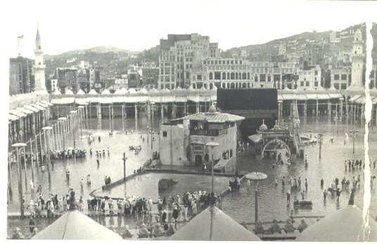 Ka'bah (Flooding in the past)