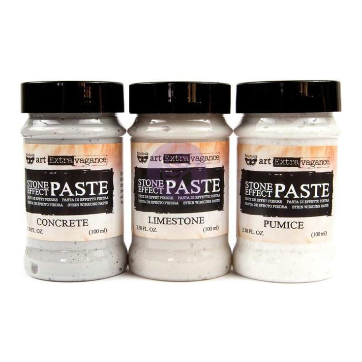 Finnabair Art Extravagance Stone Effect Paste Set | Notions Marketing #luluart #prima #stone #effect #paste #art #extra #vagance