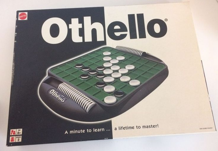 Mattel Classic Othello Game 2000 With Box And Instructions  | eBay