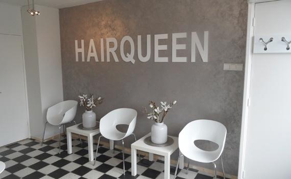 Referentie Projecten   Marliseverf.com Hairqueen Zwolle
